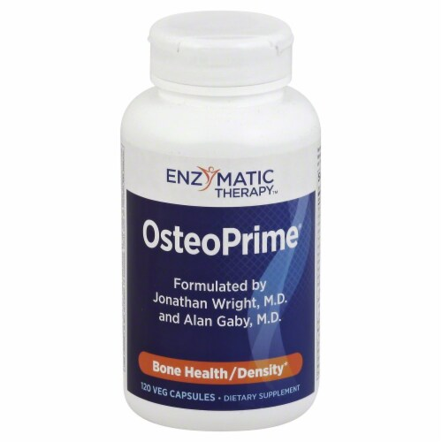 Enzymatic OsteoPrime Bone Health / Density Dietary Supplement Perspective: front