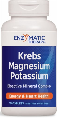 Enzymatic Therapy  Krebs Magnesium-Potassium Perspective: front