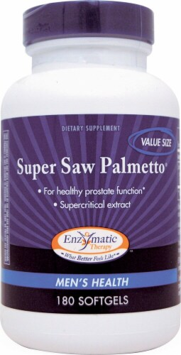 Enzymatic Therapy  Super Saw Palmetto® Perspective: front