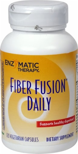 Enzymatic Therapy  Fiber Fusion™ Daily Dietary Supplement Perspective: front