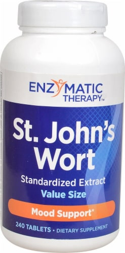Enzymatic Therapy  St John's Wort Extract Perspective: front