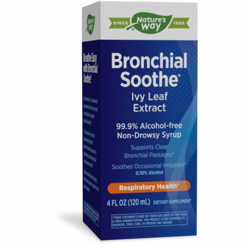Nature's Way Bronchial Soothe Ivy Leaf Syrup Perspective: front
