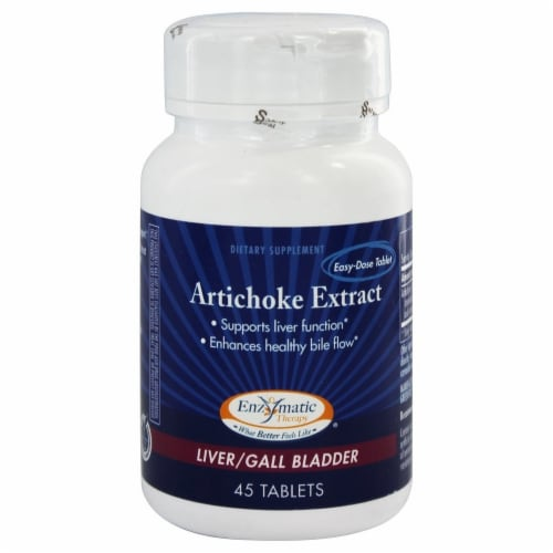 Enzymatic Therapy  Artichoke Standardized Extract Perspective: front