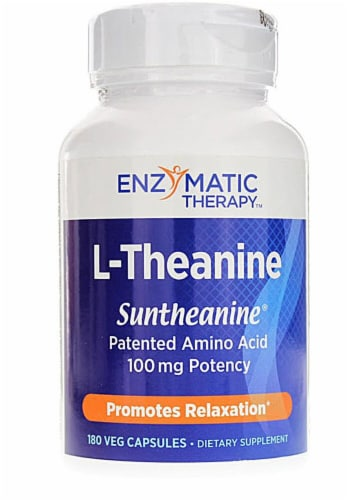 Enzymatic Therapy  L-Theanine Perspective: front