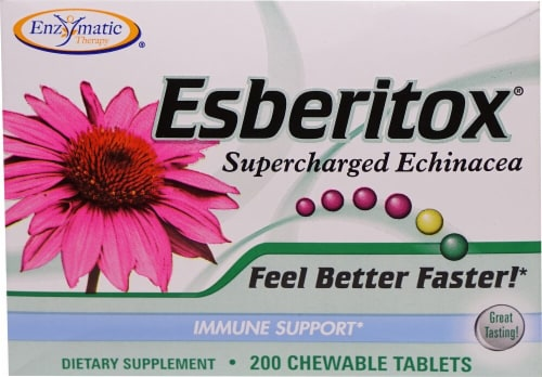 Enzymatic Therapy  Esberitox® Supercharged Echinacea Perspective: front