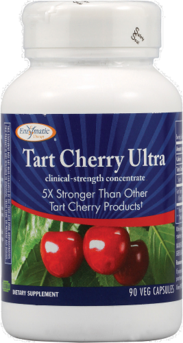 Enzymatic Therapy Tart Cherry Ultra Capsules Perspective: front