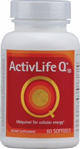 Enzymatic Therapy  ActivLife Q10™ Perspective: front
