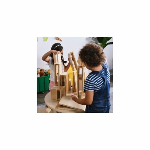 ECR4Kids ELR-0340 Junior Hollow Blocks Set - 16 Piece Perspective: front