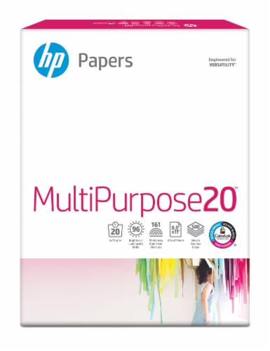 HP Multipurpose Paper - White - 500 Pack Perspective: front