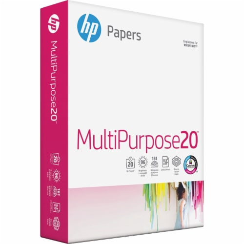 HP Papers MultiPurpose20™ White Paper - 500 Sheets Perspective: front