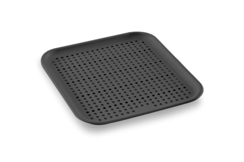 madesmart® Elevated Sink Mat - Granite Perspective: front