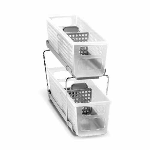 Madesmart Mini Two-Tier Organize with Dividers Perspective: front