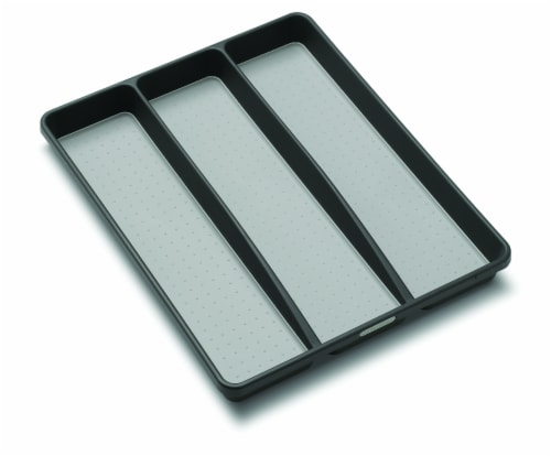 madesmart® Large Utensil Tray - Granite Perspective: front