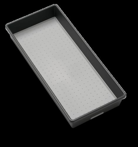 madesmart® Organizing Bin - Granite Perspective: front