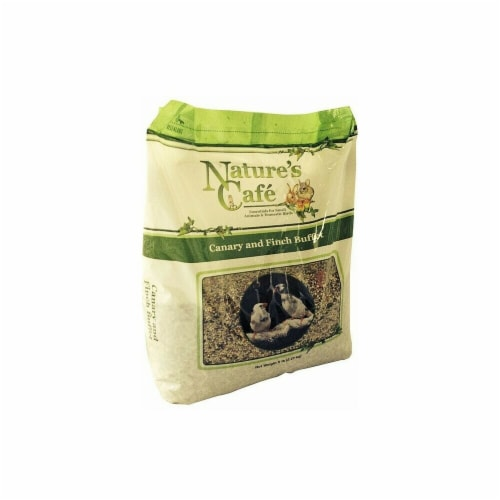 Natures Cafe NF00396 5 lbs Canary & Finch Buffet Bird Food Perspective: front