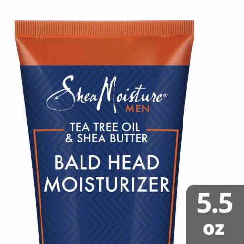 Shea Moisture Men Tea Tree Oil & Shea Butter Bald Head Moisturizer Perspective: front