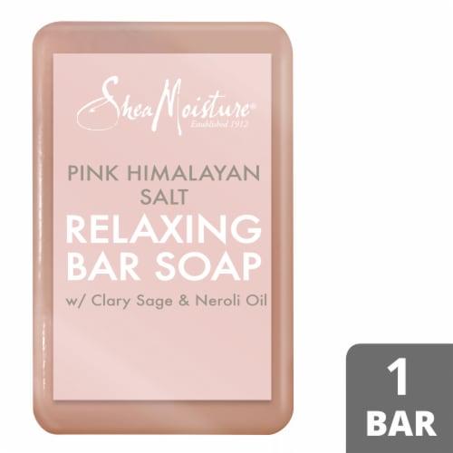 Shea MoisturePink Himalayan Salt Relaxing Soap Bar Perspective: front