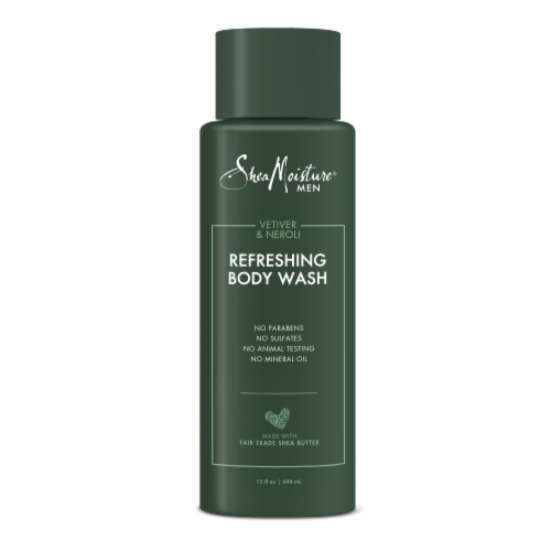Shea Moisture Refreshing Body Wash Perspective: front