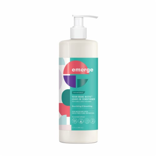 Emerge Your Mane Bestie Leave-In Conditioner Perspective: front