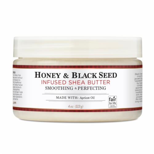 Nubian Heritage Shea Butter Infused With Honey & Black Seed Perspective: front