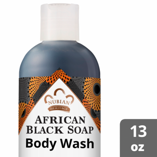 Nubian Heritage African Black Body Wash Perspective: front