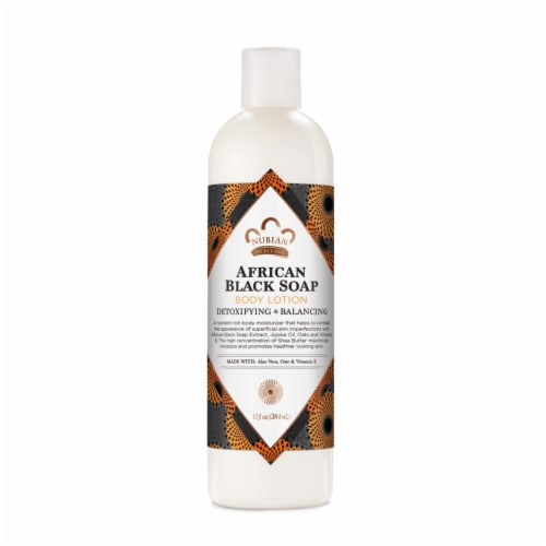 Nubian Heritage African Black Soap Lotion Perspective: front