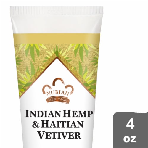 Nubian Heritage Indian Hmp Hand Cream Perspective: front