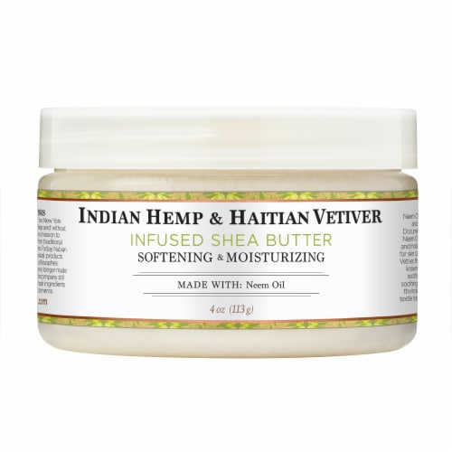 Nubian Heritage Shea Butter Infused With Indian Hemp & Haitian Vetiver Perspective: front