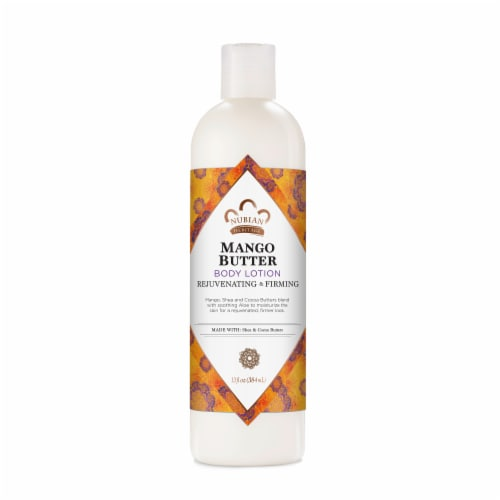 Nubian Heritage Body Lotion Mango Butter with Shea & Cocoa Butters Perspective: front