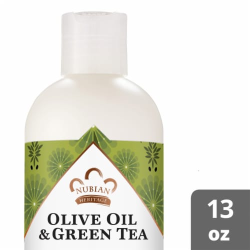 Nubian Heritage Olive Oil & Green Tea Body Lotion Perspective: front