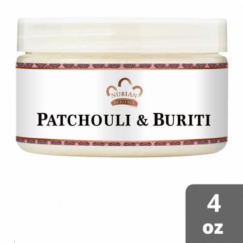 Nubian Heritage Infused Shea Butter Patchouli & Buriti Perspective: front