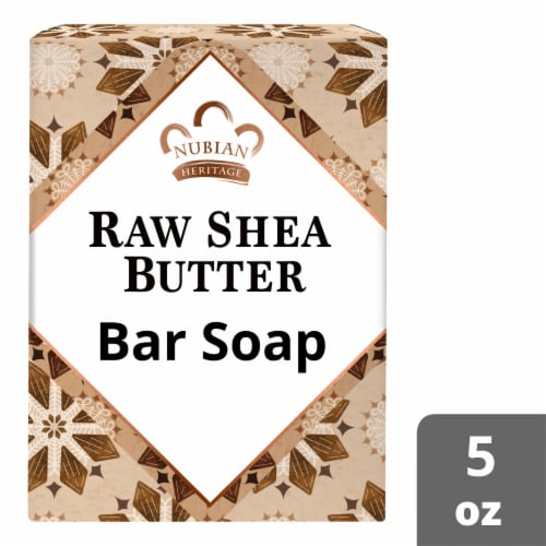 Nubian Heritage Raw Shea Butter Soap Perspective: front