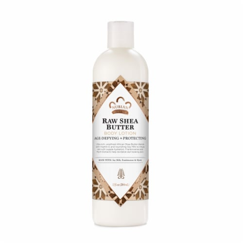 Nubian Heritage Paraben-Free Raw Shea Butter Body Lotion Perspective: front