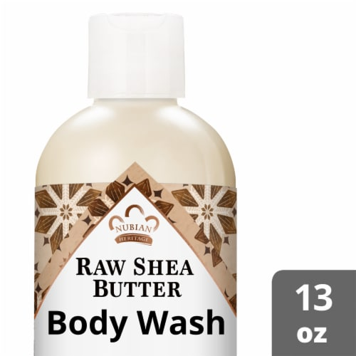 Nubian Heritage Raw Shea Butter Body Wash Perspective: front