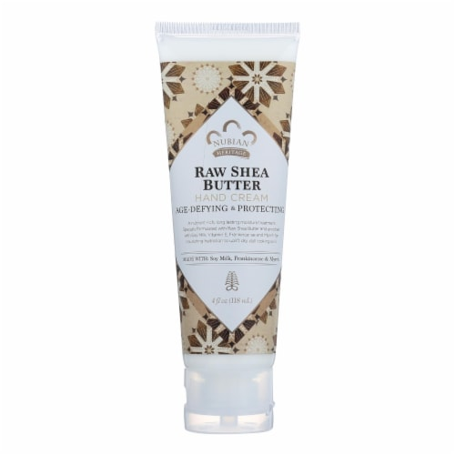 Nubian Heritage Raw Shea Butter Hand Cream Perspective: front