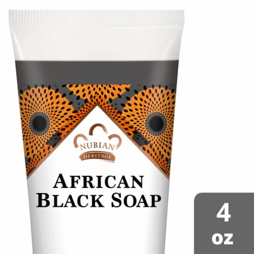 Nubian Heritage African Black Soap Hand Cream Perspective: front