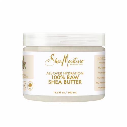 Shea Moisture 100% Raw Shea Butter Perspective: front