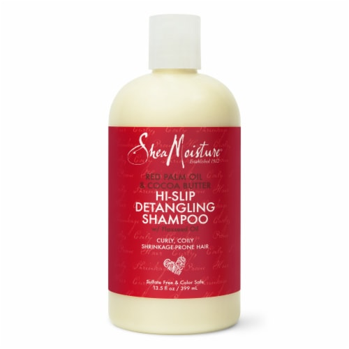 Shea Moisture Detangling Red Palm Oil and Cocoa Butter Shampoo Sulfate Free Perspective: front