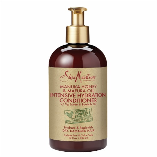 SheaMoisture Manuka Honey & Mafura Oil Intensive Hydration Conditioner Perspective: front