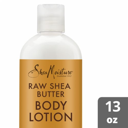 Shea Moisture Raw Shea Butter with Frankincense and Myrrh Hydrating Body Lotion Perspective: front