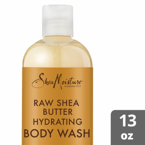 Shea Moisture® Raw Shea Butter Hydrating Body Wash for Dry Skin Perspective: front