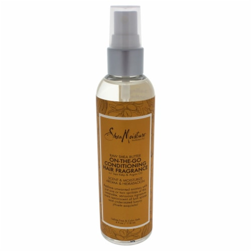 Shea Moisture Raw Shea Butter OnTheGo Conditioning Hair Fragrance Spray 4 oz Perspective: front