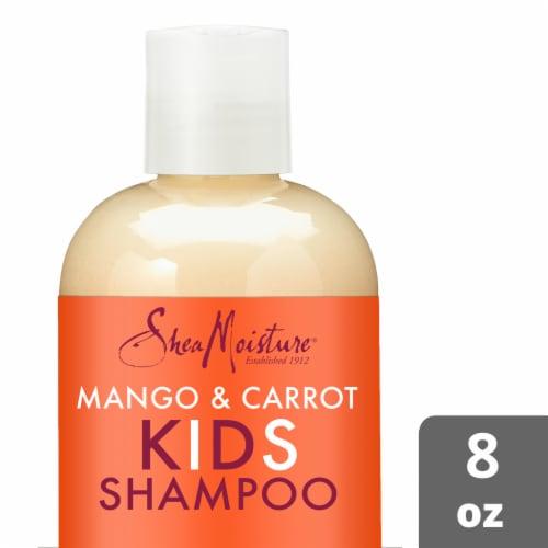 Shea Moisture Kids Mango & Carrot Shampoo Perspective: front