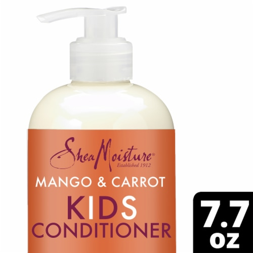 Shea Moisture Mango & Carrot Kids Extra-Nourishing Conditioner Perspective: front