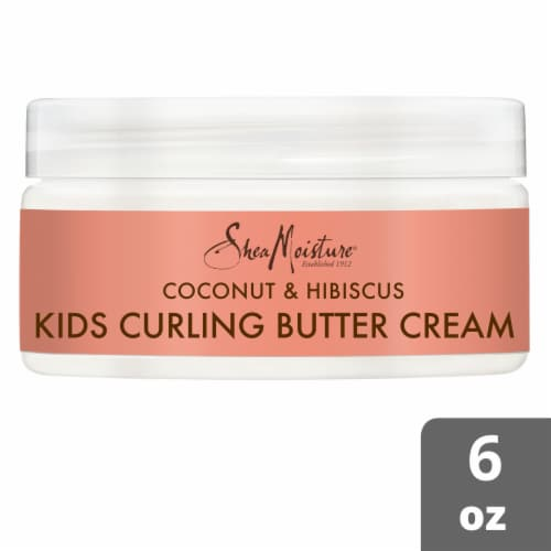 SheaMoisture Coconut & Hibiscus Kids Curling Butter Cream Perspective: front