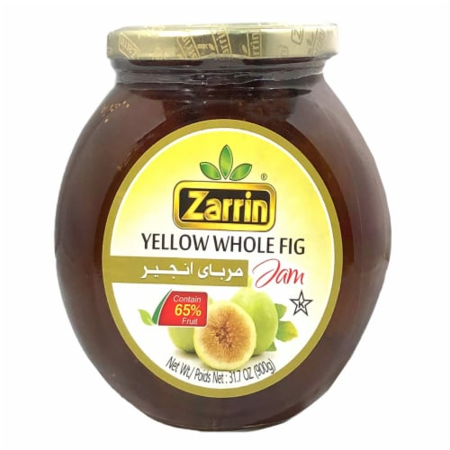 Zarrin - Yellow Whole Fig Jam 31.7 Oz (900g) Perspective: front