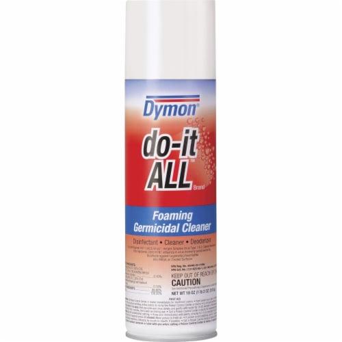 Dymon Do-It-All Germicidal Foaming Cleaner, 18 Oz Aerosol Spray 08020EA Perspective: front