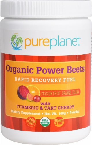 Pure Planet  Organic Power Beets Rapid Recovery Fuel Perspective: front