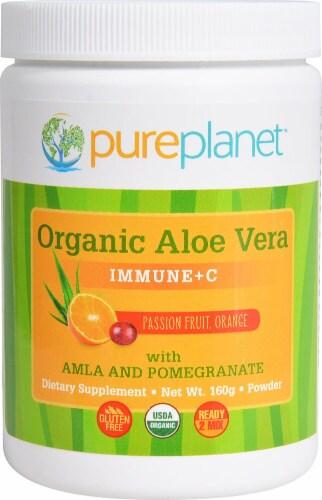 Pure Planet Organic Aloe Vera Immune Plus C Perspective: front