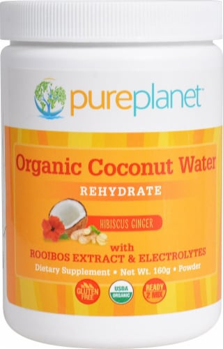 Pure Planet  Organic Coconut Water Rehydrate Perspective: front
